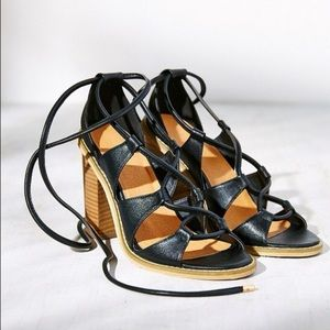 Urban Outfitters Silence and Noise lace up sandals